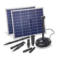 Kit pompe solaire bassin Super Fountain 3400L-100W