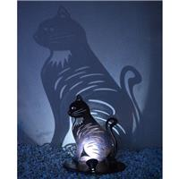 Chat lumineux solaire Ninchat