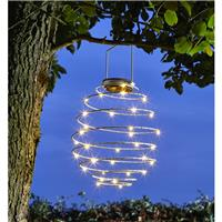 Suspension solaire Spirale 33 leds
